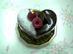 ハート形フレッシュケーキ2