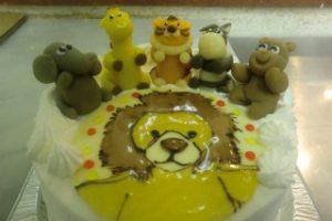 ライオンのケーキ