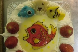 魚のケーキ