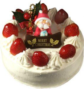 モンレーヴの定番ショートケーキの写真