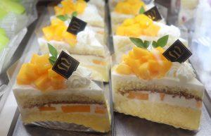 国産マンゴーのショートケーキ